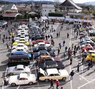 レトロカーも台数が集まれば集客の大きな手段だ(豊後高田市のホームページより)