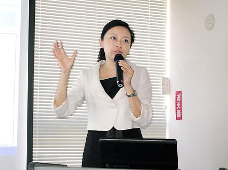 日中コミュニケーションの可越社長