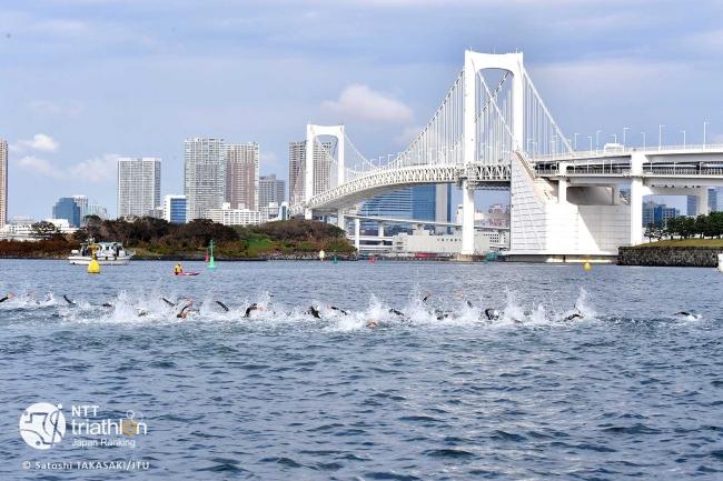 日本トライアスロン連合、日本選手権のお台場での開催を推進